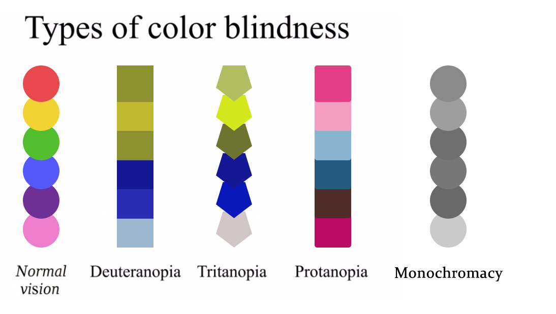Email Design Trends_Accessibility in Emails_Color Blindness