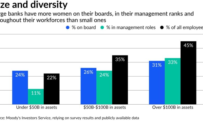 Do women on boards make banks less risky? It's too soon to say.