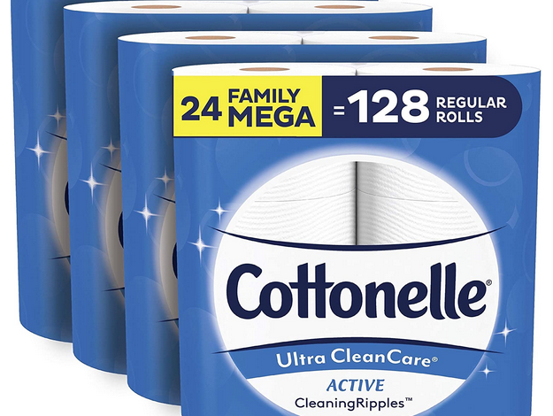 Cottonelle Ultra CleanCare Soft Toilet Paper (24 Family Mega Rolls) just $23.92 shipped!