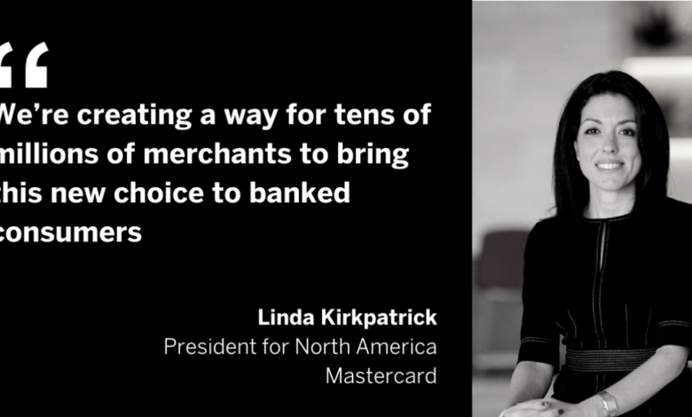 No card required: Mastercard takes buy now/pay later to bank apps