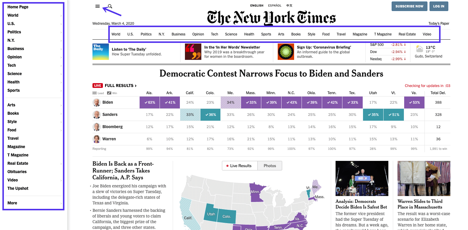 new york times example