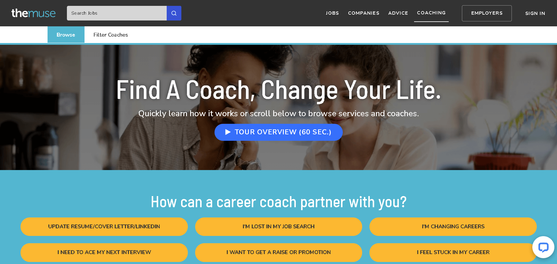 coaching page the muse