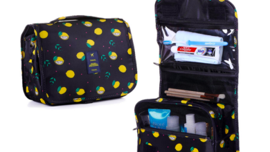 Portable Toiletry & Cosmetic Bag only $7.84!