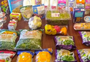 Brigette's $92 Grocery Shopping Trip and Weekly Menu Plan for 6