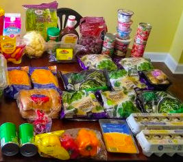 Brigette's $93 Grocery Shopping Trip and Weekly Menu Plan for 6