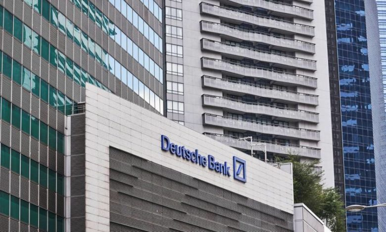 Deutsche Bank leans on M&A boom as trading slows